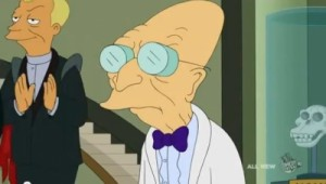 Создать мем: dr farnsworth, i don t want to live on this planet anymore, futurama