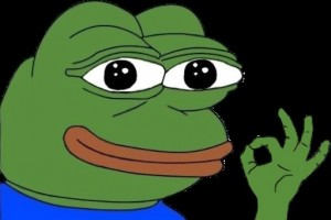 Create meme: the frog and the fly meme, frog meme cartoon, the frog Pepe hacker