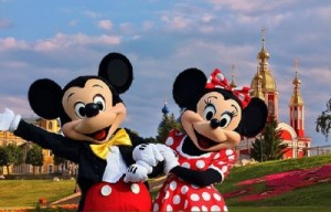 Create meme: Mickey and Minnie mouse in Tambov October 3, 2015