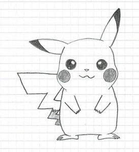 Создать мем: how to draw, пикачу, pikachu