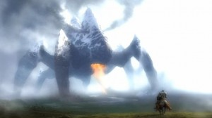 Create meme: shadow of the colossus Wallpaper, giant monster, Godzilla 2 king of the monsters 2019