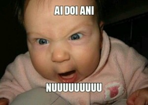 Create meme: baby i, a baby, funny pic
