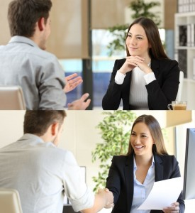 Create meme: human resources specialist interview, job interview successful, job interview picture