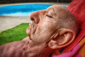 Create meme: Part of the face, very old men with the broken ear, old face