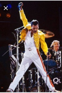 Create meme: bohemian rhapsody queen, Freddie mercury pose, Freddie mercury photo