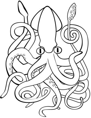 Create Meme Western Squid Globalization Celtic Knot Coloring Pages