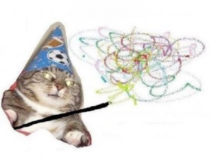Create meme: meme risovac , new memes , cat wizard