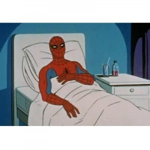 Create meme: SpiderMan Cancer , spiderman , meme generator