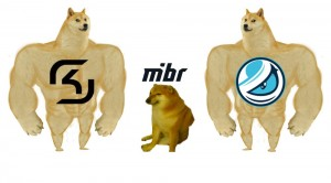 Создать мем: doge meme, dog, cheems doge