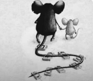 Создать мем: картинки папа мышь, картинка мышка папа, ничего страшного