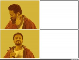 Create meme: template meme with Drake, memes templates , drake meme template
