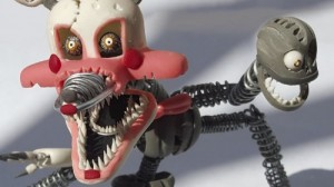 Создать мем: FNAF 4 nightmare Mangle ФНАФ Мэнгл Мангл и Кеша