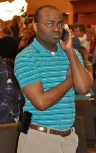 Create meme: The Negro with the phone