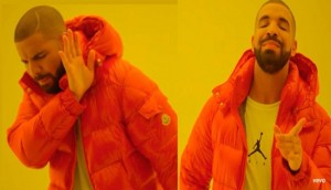 Create meme: rappers, Drake jacket, the meme with the guy in the orange jacket