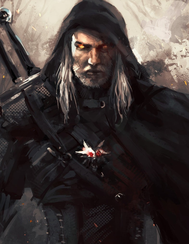 Create Meme Geralt Of Rivia Art Geralt Of Rivia Witcher