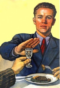 Create meme: teetotaler, pictures drinkers, Soviet posters about sobriety