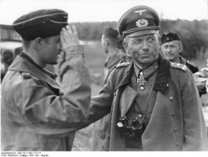 Create meme: General of the armored forces Heinz Guderian