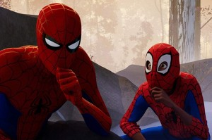 Create meme: spider-man through the universes in a white robe such a fucking, spiderman , spider-man through the universe pictures 4k