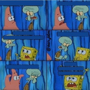 Create meme: spongebob , spongebob squidward, memes comics about spongebob Squarepants