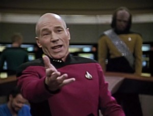Create meme: Captain Picard