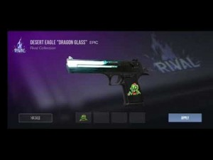Create meme: Desert Eagle, dragon glass standoff deagle, desert eagle dragon glass