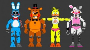 Создать мем: five night at freddy, withered toy animatronics, five nights