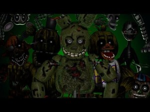 Создать мем: fnaf 3, fnaf sfm, five nights at freddys 3