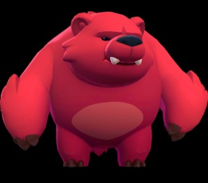 Create meme: Cartoon, bear Nita brawl the stars, a picture of a bear Nita from brawl stars