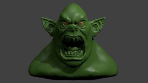 Create meme: icon monster, orc , sculpt