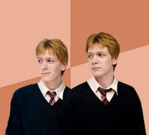 Create meme: Dred and Forge , harry potter , Harry Potter