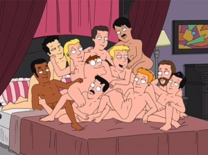 Create meme: family guy gay on the bed, Peter Griffin and gay, gay in family guy