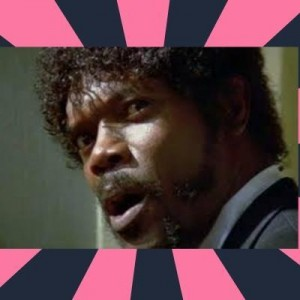 Создать мем: samuel l jackson, pulp fiction, samuel l jackson pulp fiction, funny meme