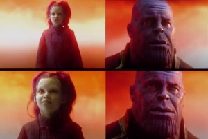 Создать мем: did you do it yes what did it cost, танос what did it cost, thanos what did it cost
