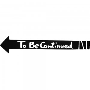 Create meme: to be continued PNG download, to be continued, arrow to be continued