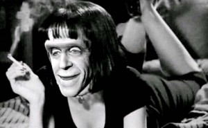 Create meme: a frame from the video, munster, Herman Munster