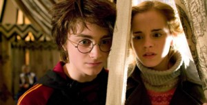 Create meme: Harry and Hermione