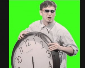Создать мем: its time to stop, часы мем, filthy frank its time to stop