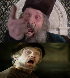 Create meme: ahhh , create meme , demons Ivan Vasilyevich changes occupation
