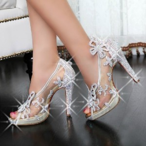 Создать мем: wedding shoes, high heel, свадебные туфли