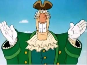 Создать мем: добрый доктор, мультик остров сокровищ, костюм доктора ливси