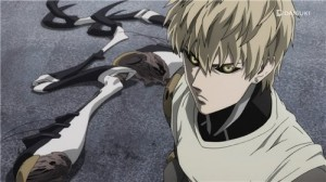 Создать мем: Ванпанчмен, genos, one punch man 2 genos