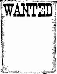 Create meme: wanted b & W, searched , Attention!