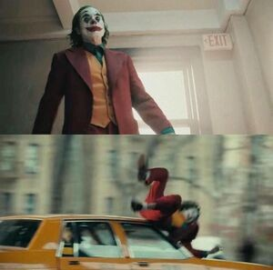 Create meme: Joaquin Phoenix Joker trailer, Joker film 2019, Joker 2019 screens
