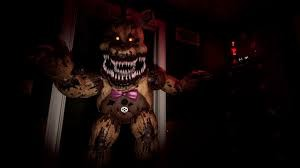 Создать мем: фредди фнаф vr, фнаф 4 fredbear, five nights at freddy s vr
