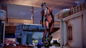 Create meme: mass effect 2 , samara mass effect, arts mass effect