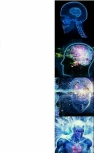 Create meme: Supermind