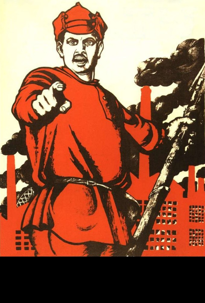 Create meme: Soviet poster and you, Have you volunteered?, picture and you volunteered