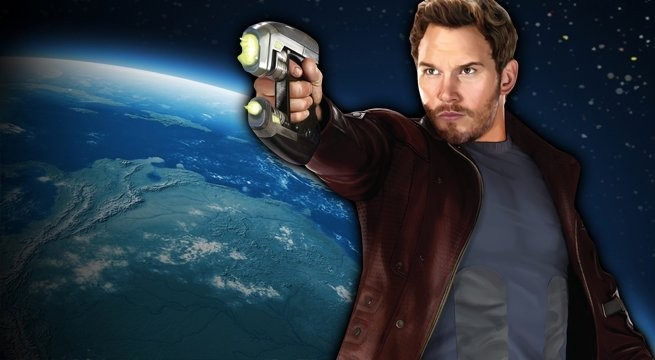 Создать мем: star lord, chris pratt, guardians of the galaxy
