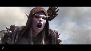 Создать мем: blizzcon 2017, world of warcraft battle for azeroth сильвана, world of warcraft battle for azeroth cinematic trailer