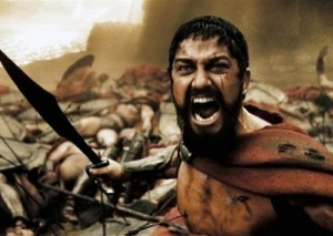 Create meme: meme this is Sparta , Spartan , leonidas